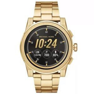 NWT Michael Kors Smartwatch in gold tones